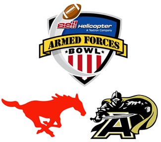 Armed Forces Bowl 2010 logos