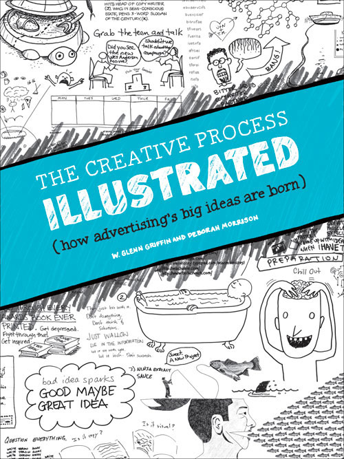 The Creative Process Illustrated: How Advertising's Big Ideas Are Born by W. Glenn Griffin and Deborah Morrison