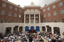 Caruth Hall dedication on 16 april 2010