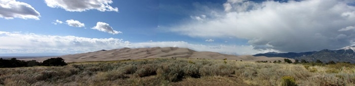 CJ at SMU-in-Taos - photo of great sand dunes