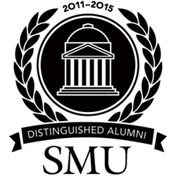 SMU 2011 Distinguished Alumni Award Logo