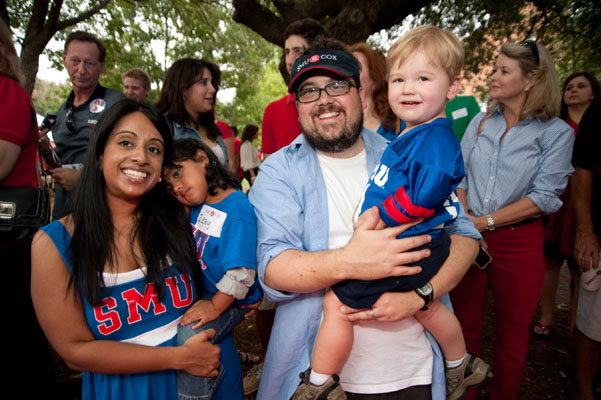 Scene from SMU Family Weekend 2011