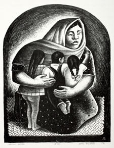 Mexican Mother by Jerry Bywaters, 1936