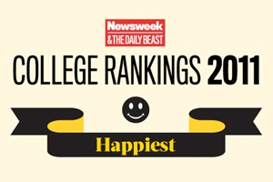 Daily Beast Rankings of Happiest Colleges in America