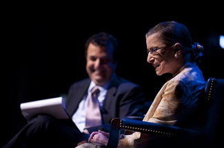 Ruth Bader Ginsburg at Southern Methodist University