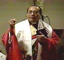 The Rev. Dr. Medardo Gomez, Bishop of the Lutheran Church of El Salvador