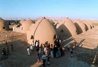 CalEarth Sandbag Shelters