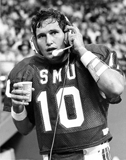 Mike Ford at SMU in 1980