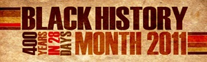 Black History Month Logo 2011 at SMU