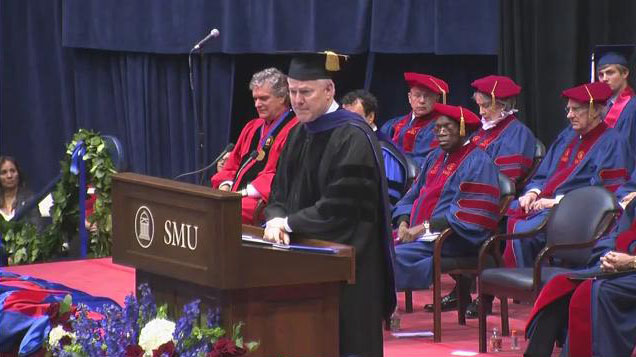 U.S. Sen. John Cornyn at the SMU Commencement on 14 May 2011