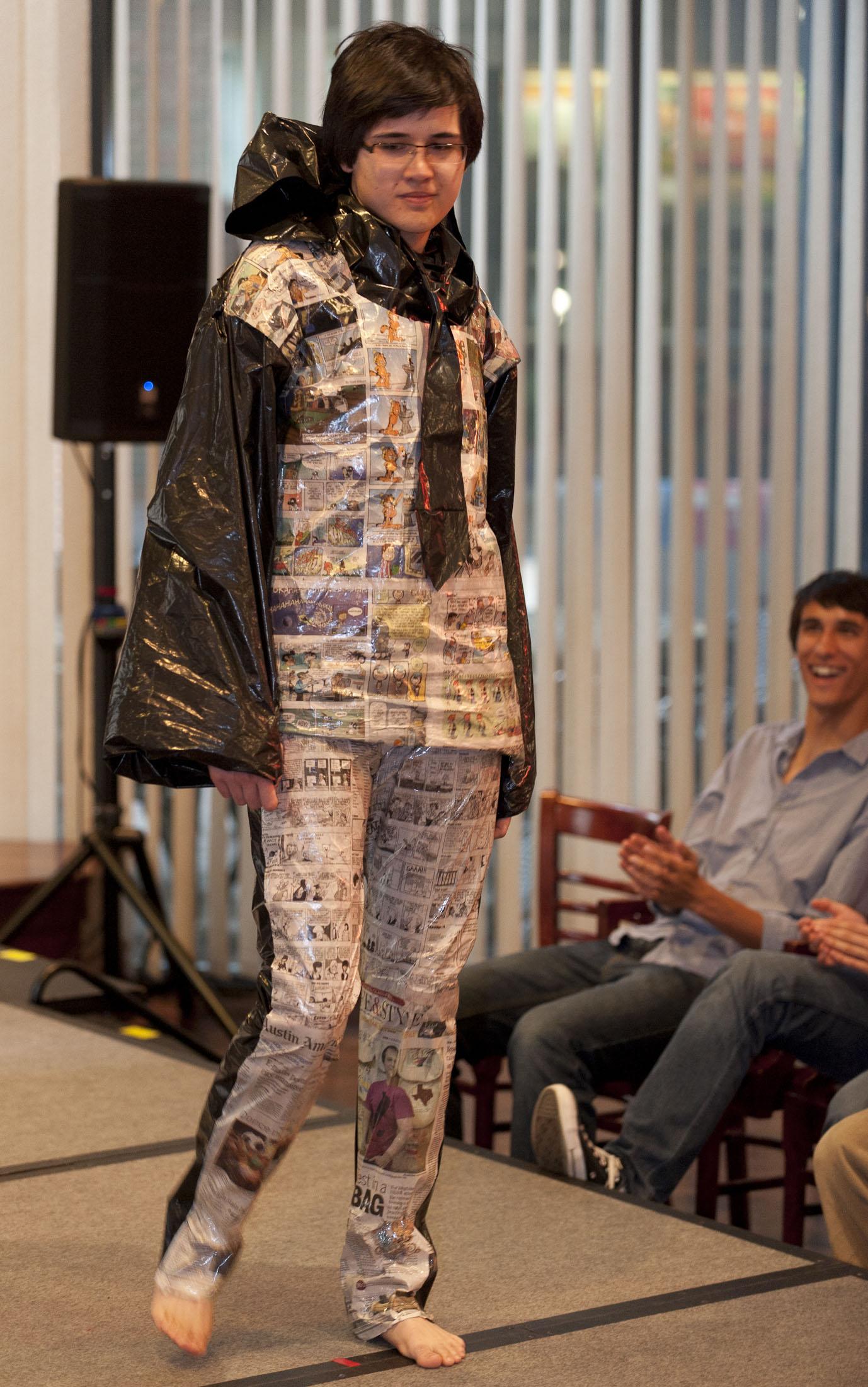 Smu Students Make Fashion Statements To Promote Recycling Smu