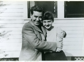 Horton and Lillian Foote in 1945