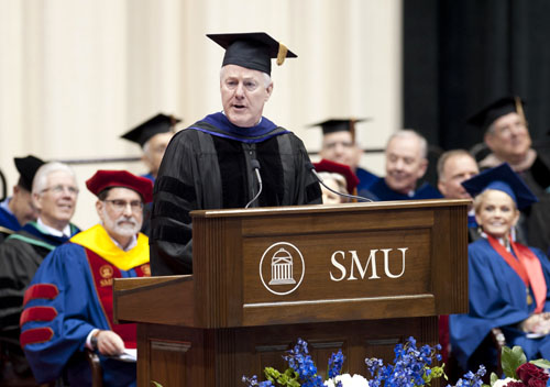 U.S. Sen. John Cornyn at SMU on 14 May 2011