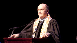 The Rev. Mark Craig at SMU Baccalaureate on 13 May 2011