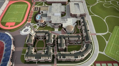 SMU Residential Commons Rendering
