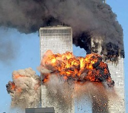 Twin Towers Attacked on 11 Sept 2011