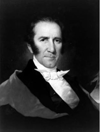 Texas President Sam Houston, circa 1844. Courtesy of the Texas State Library and Archives.