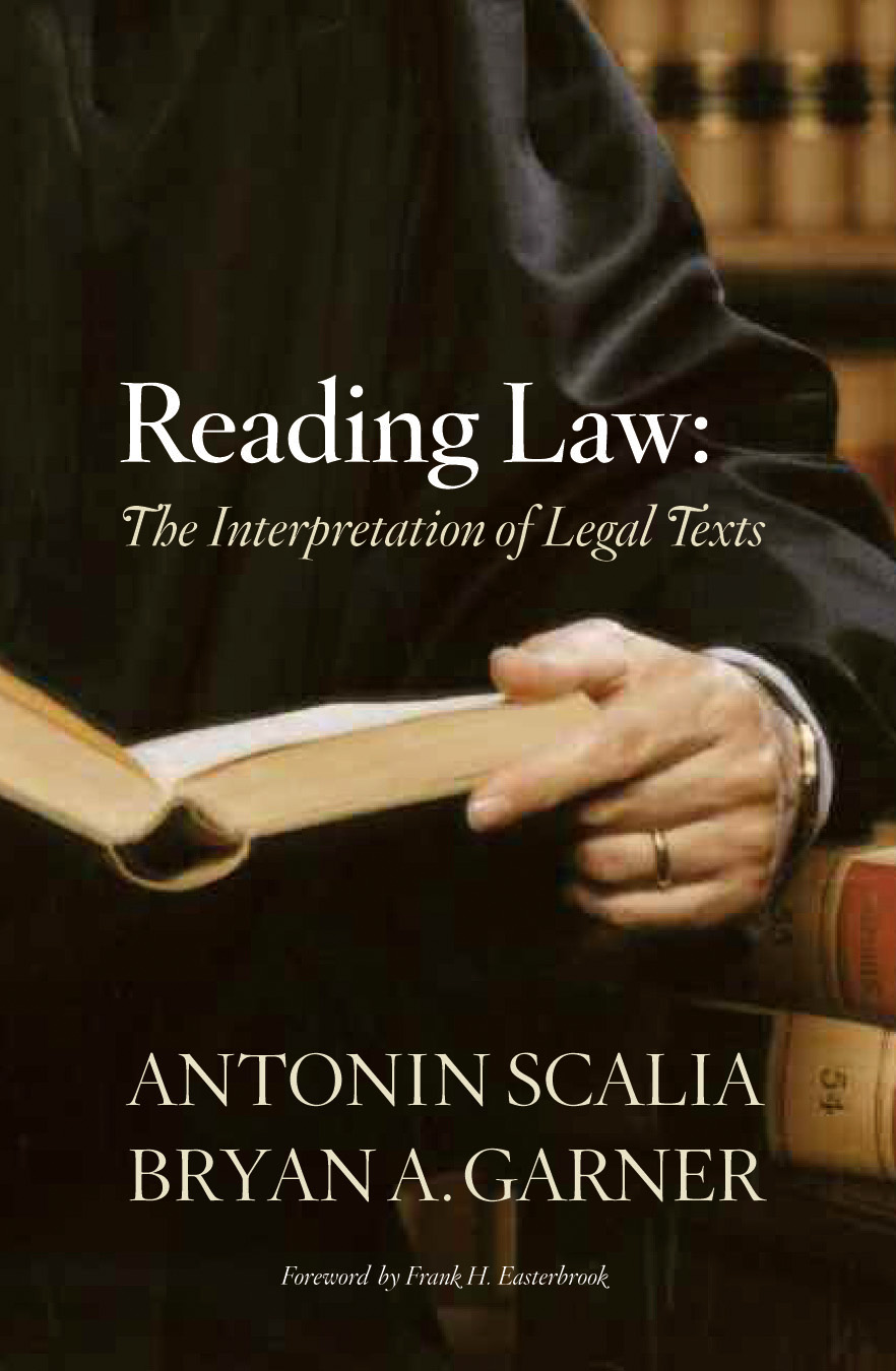 Reading Law book cover