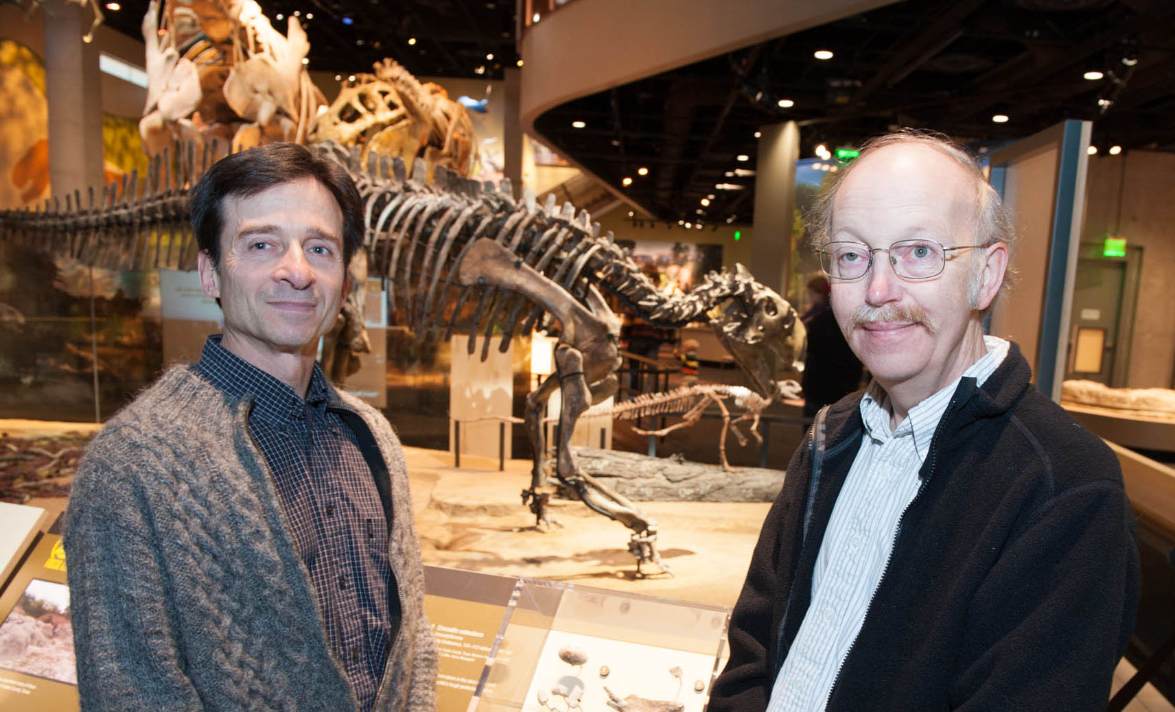 Anthony Fiorillo and Dale Winkler at the Perot Museum