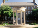 Lee Tempietto and Storey Hall, SMU Dedman School of Law