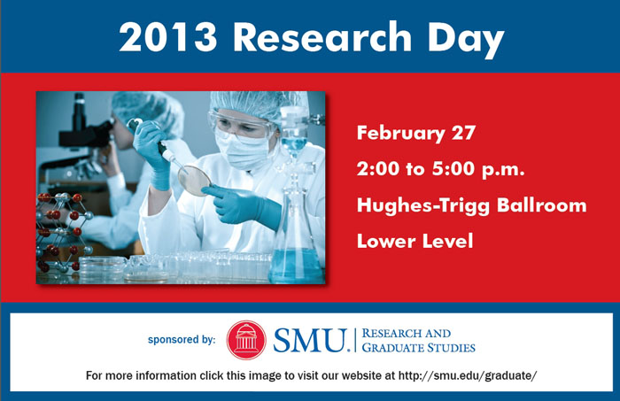 Graduate Research Day on 27 February 2013