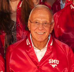 SMU Basketball Coach Larry Brown