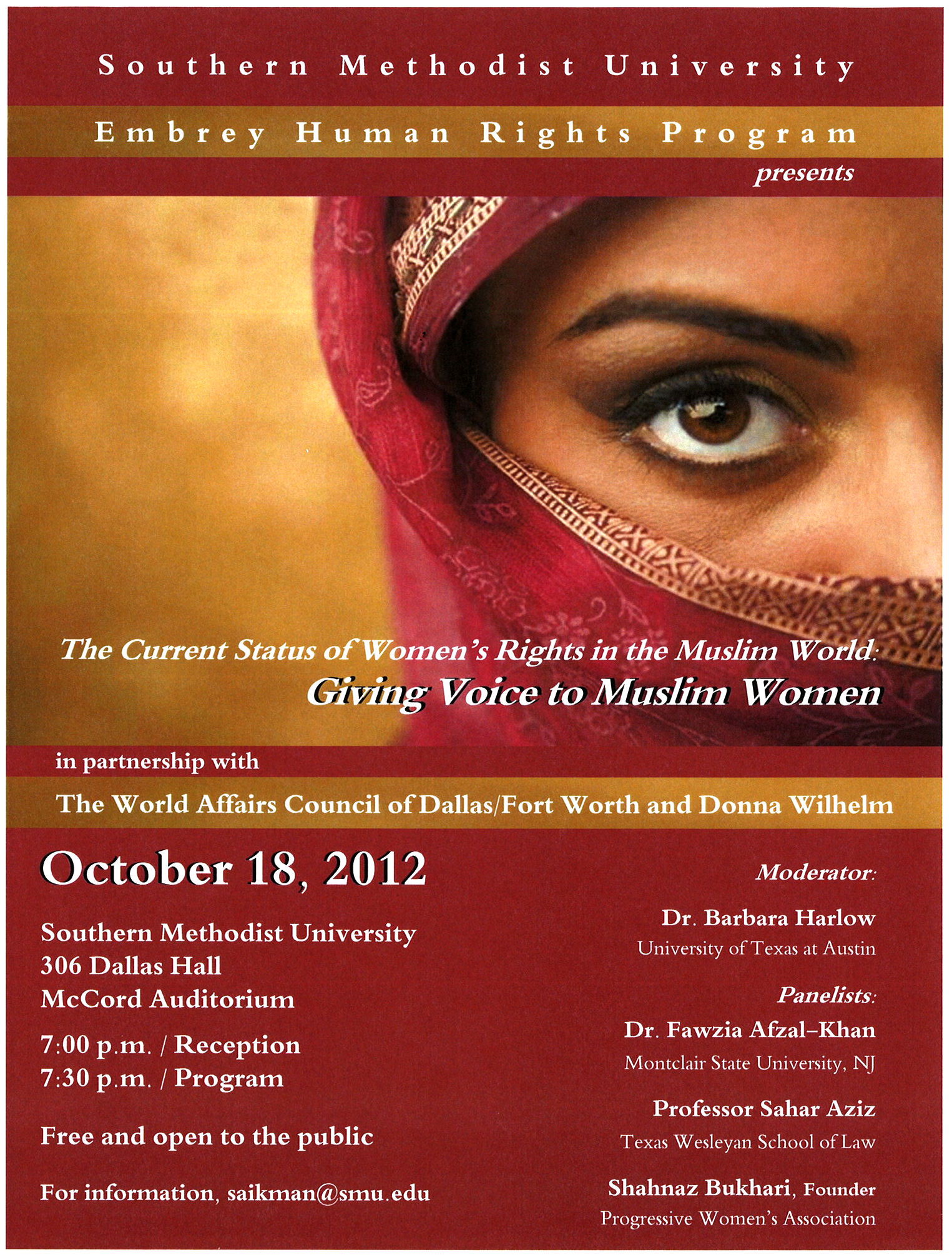 Women's Rights in a Muslim World