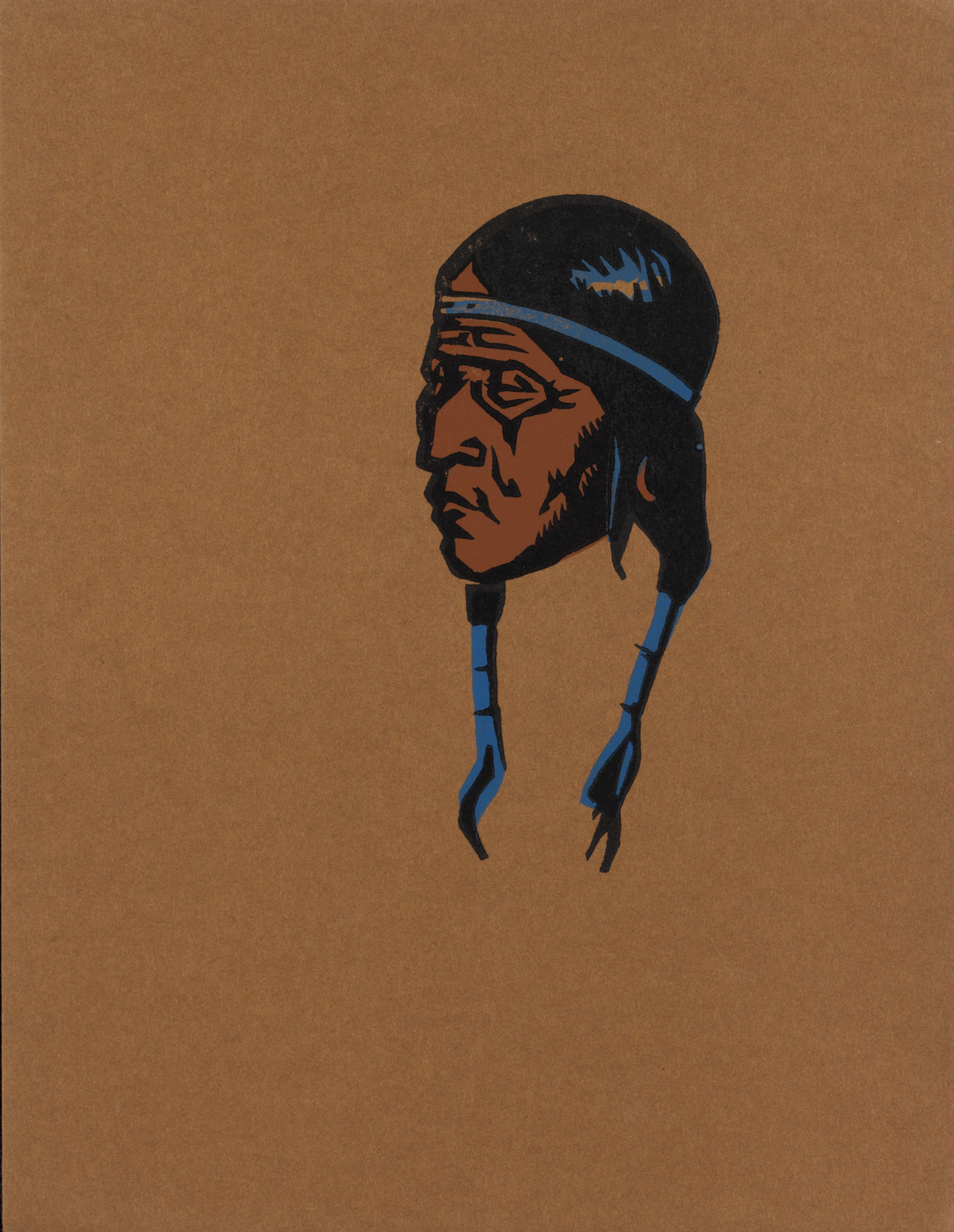 Indian Head by Jerry Bywaters