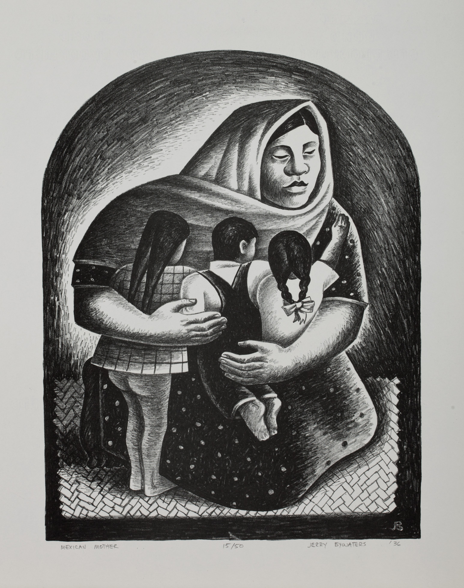 Mexican Mother by Jerry Bywaters