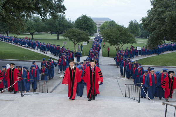 SMU Commencement Weekend 2012
