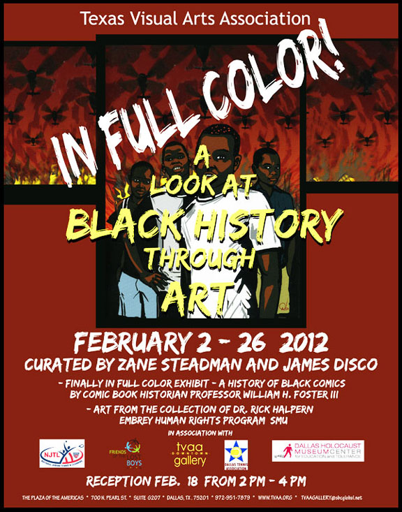 In Full Color exhibit for Black History Month 2012