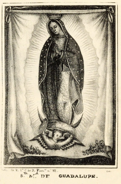 Novena with Lithographic Frontispiece