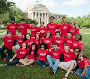 SMU students participating in Unbridled Projects for 2012-13