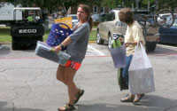 School Starts at SMU - Moving In