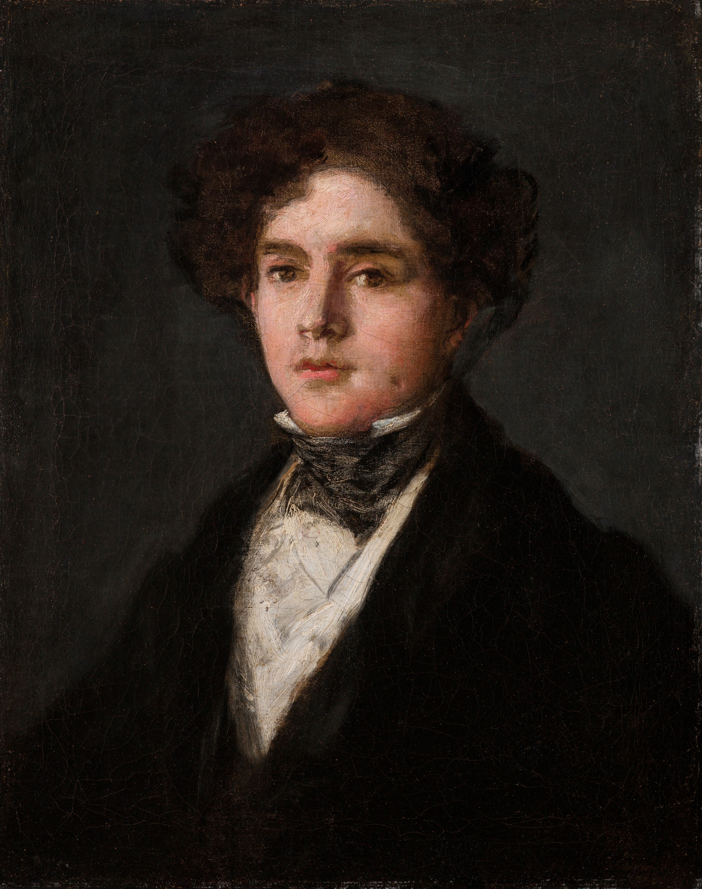 Francisco José de Goya y Lucientes (1746-1828), Portrait of Mariano Goya, the Artist's Grandson, 1827, oil on canvas. Meadows Museum, SMU, Dallas. Museum
