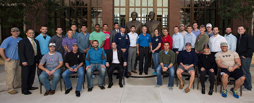 Veterans Day 2013 at the Bush Presidential Center
