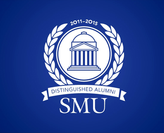 SMU Distinguished Alumni Award logo