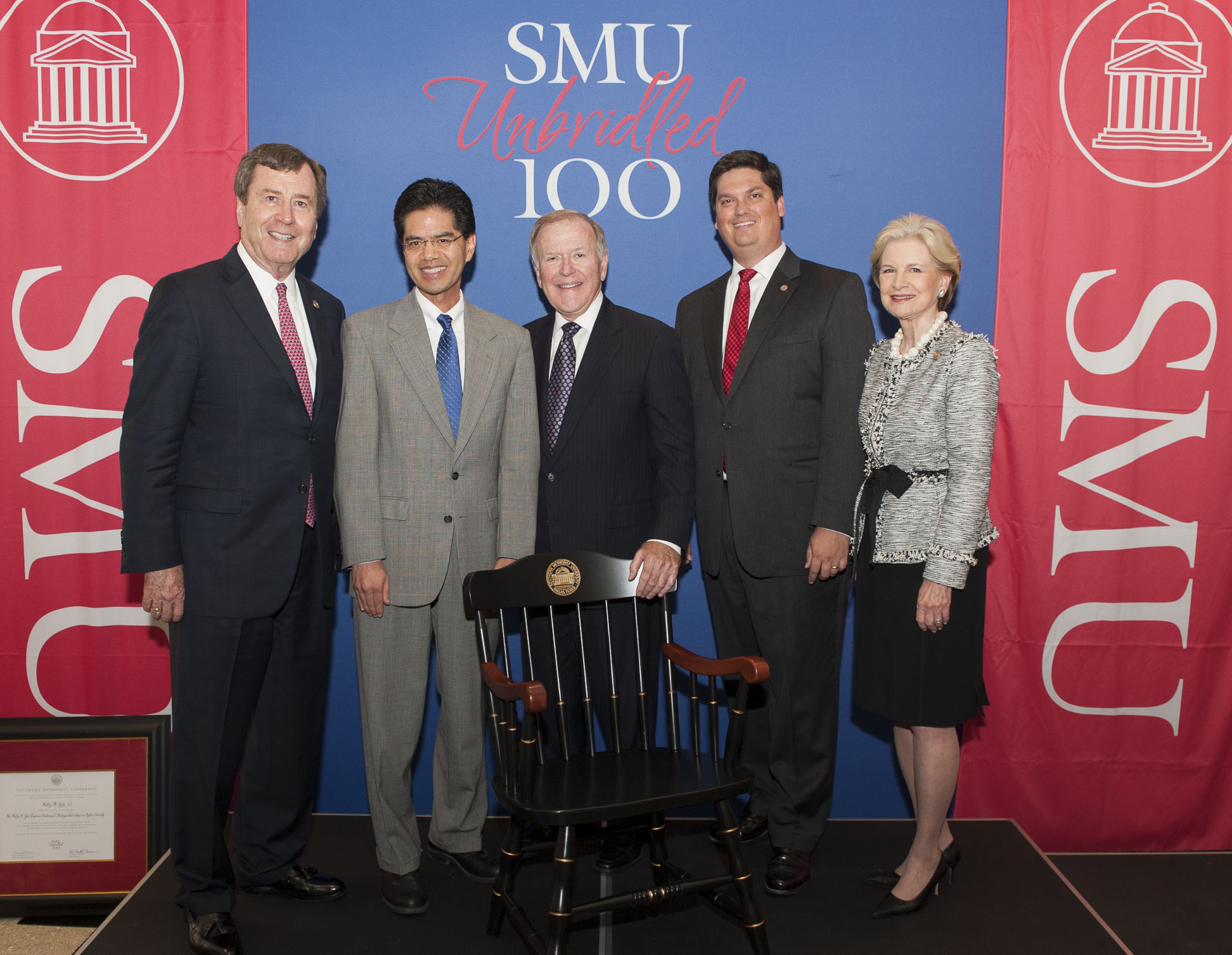 Fred Chang welcomed to SMU