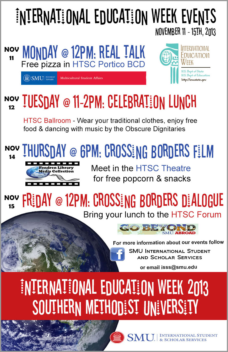 International Education Week at SMU