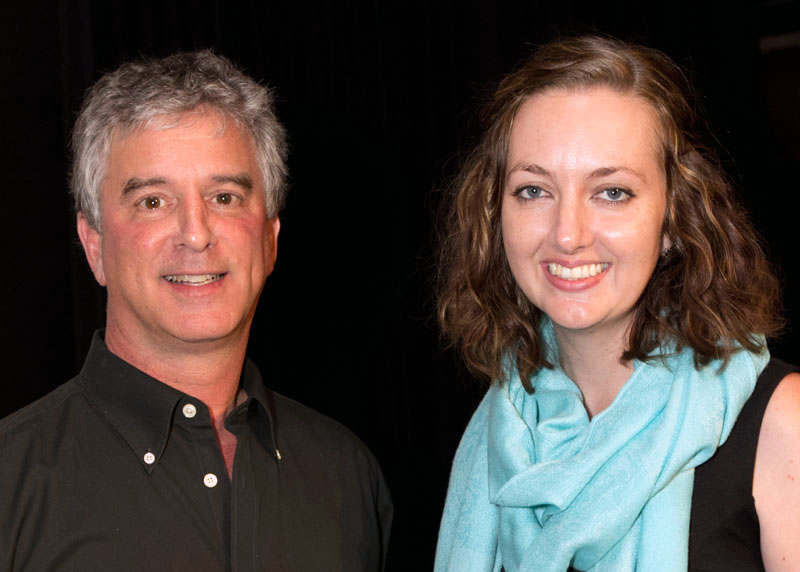 Dave Lieber and Lyanna Smith were the favorites at the TEDxSMU auditions on 20 June 013