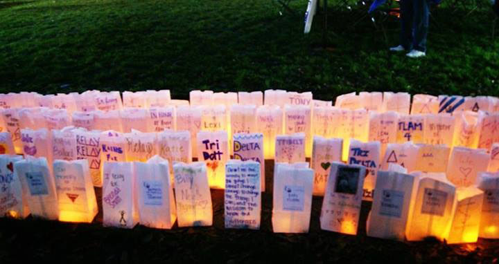 Luminaries for SMU Relay for Life