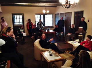SMU faculty members gather in Taos for an ethics course development and writing workshop.