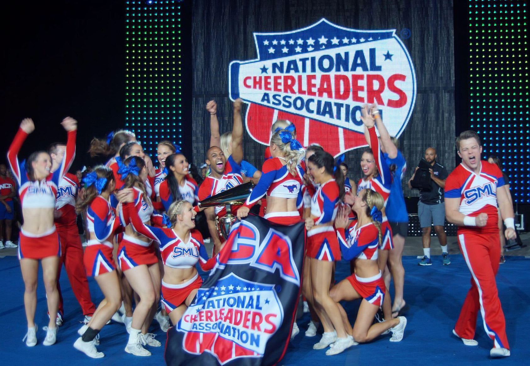 Three Cheers For National Champs SMU Cheer Takes Top NCA Honors