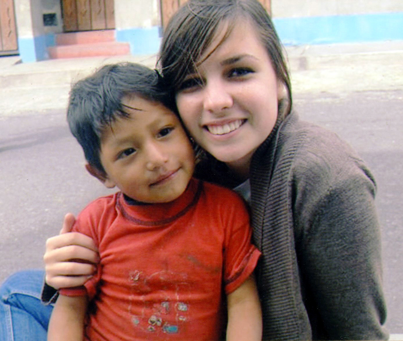 Lisa Walters working in Ecuador