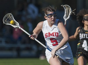 SMU Lacrosse player