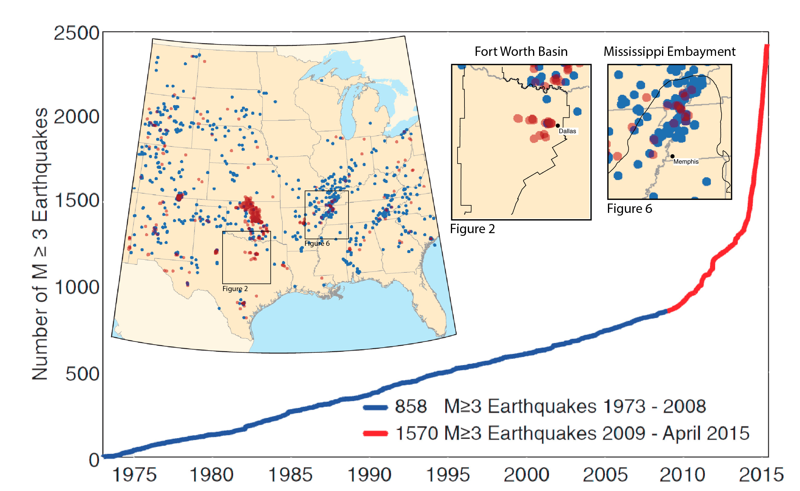 SMU Seismology Research Shows North Texas Earthquakes Occurring On - North texas map