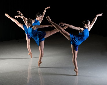Ascension by Dwight Rhoden and Desmond Richardson - SMU Fall Dance Concert - photo by Paul Phillips