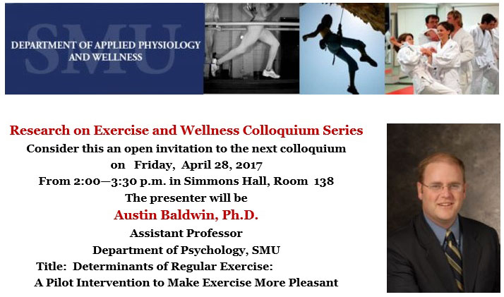 Research on Exercise and Wellness Colloquium Series