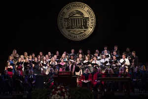 Opening Convocation choir, SMU 2016