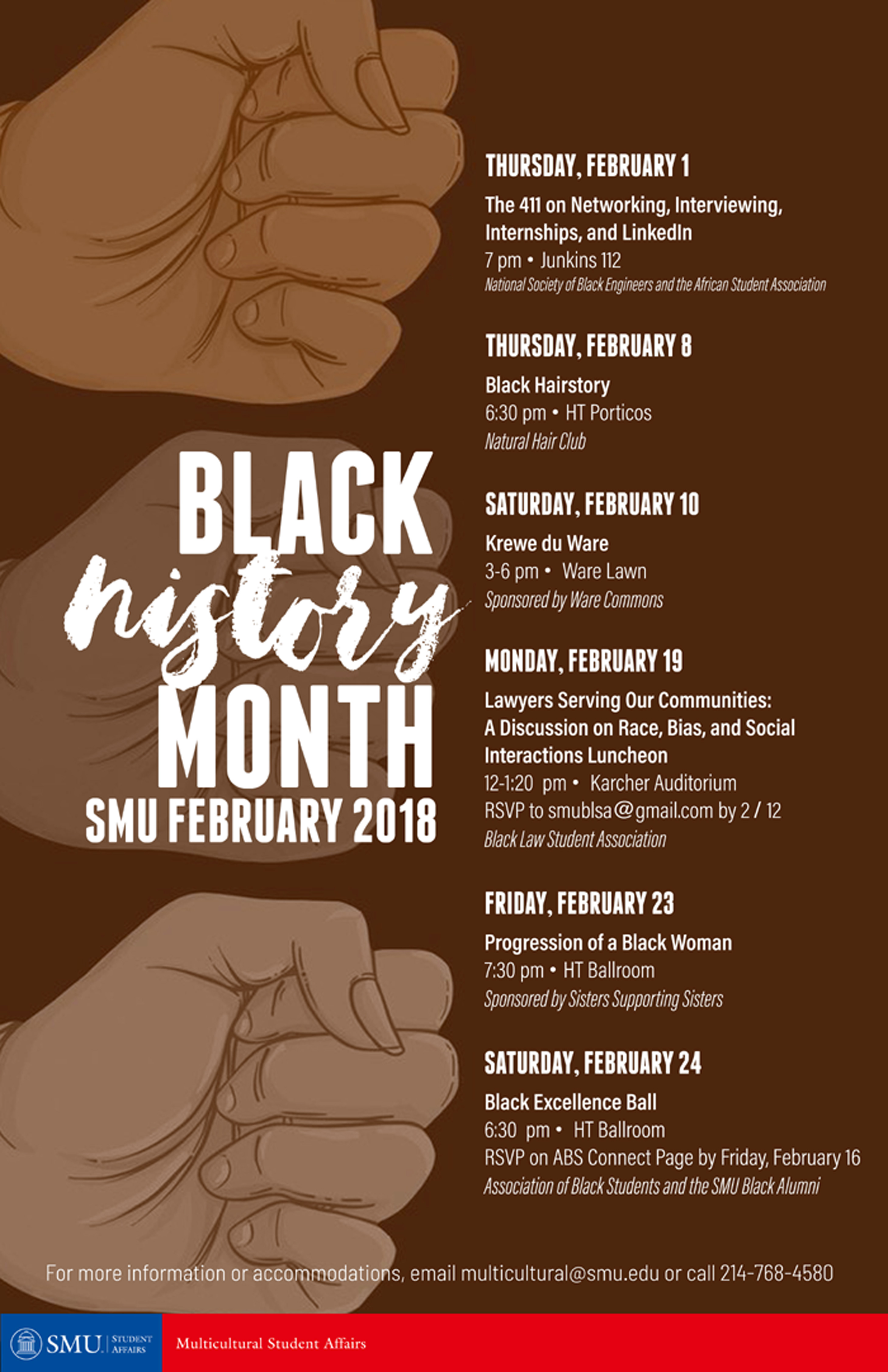 Black History Month at SMU